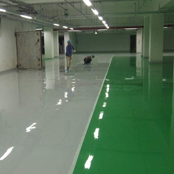 Self-Leveling Epoxy Floor Paint for Non-Dust Environment
