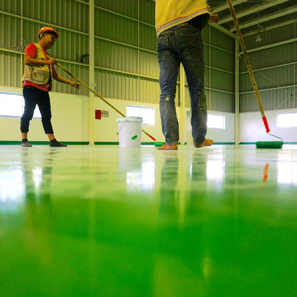 Anti-Static Self-Leveling Epoxy Paint for Industrial Floor Coating
