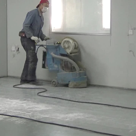 Installation Video 5:Grind the Epoxy Sand Layer