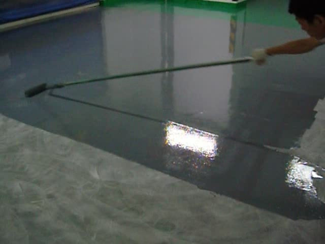 CP-1000 Solvent based epoxy floor paint application instructions