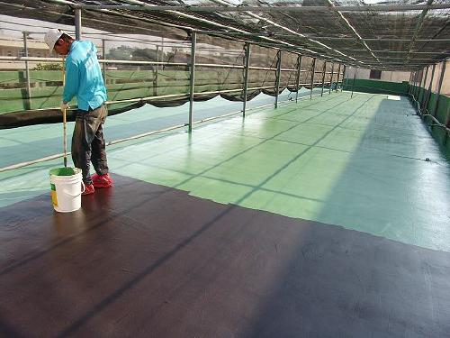 CP-800 Outdoor Polyurethane Floor Paint Application Instruction