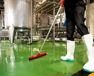 Application of Polyurethane Screed Flooring System